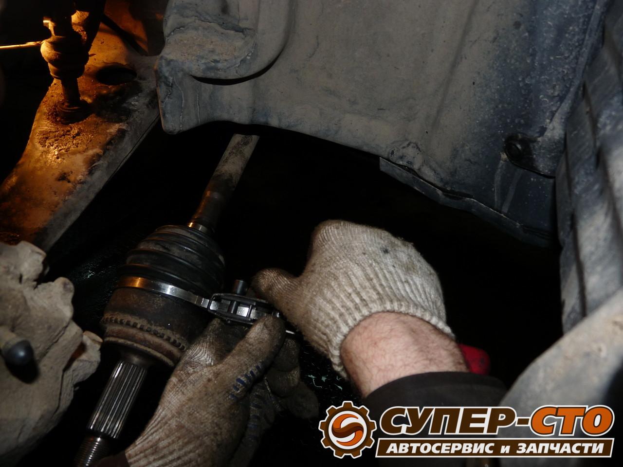 Замена пыльника внешнего шруса форд фокус 2 своими руками 33