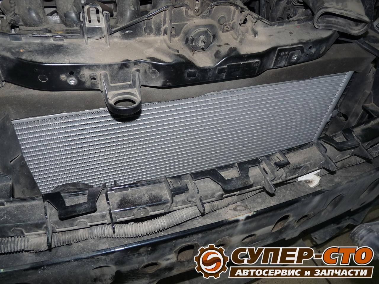 Форд фокус 1 замена радиатора кондиционера
