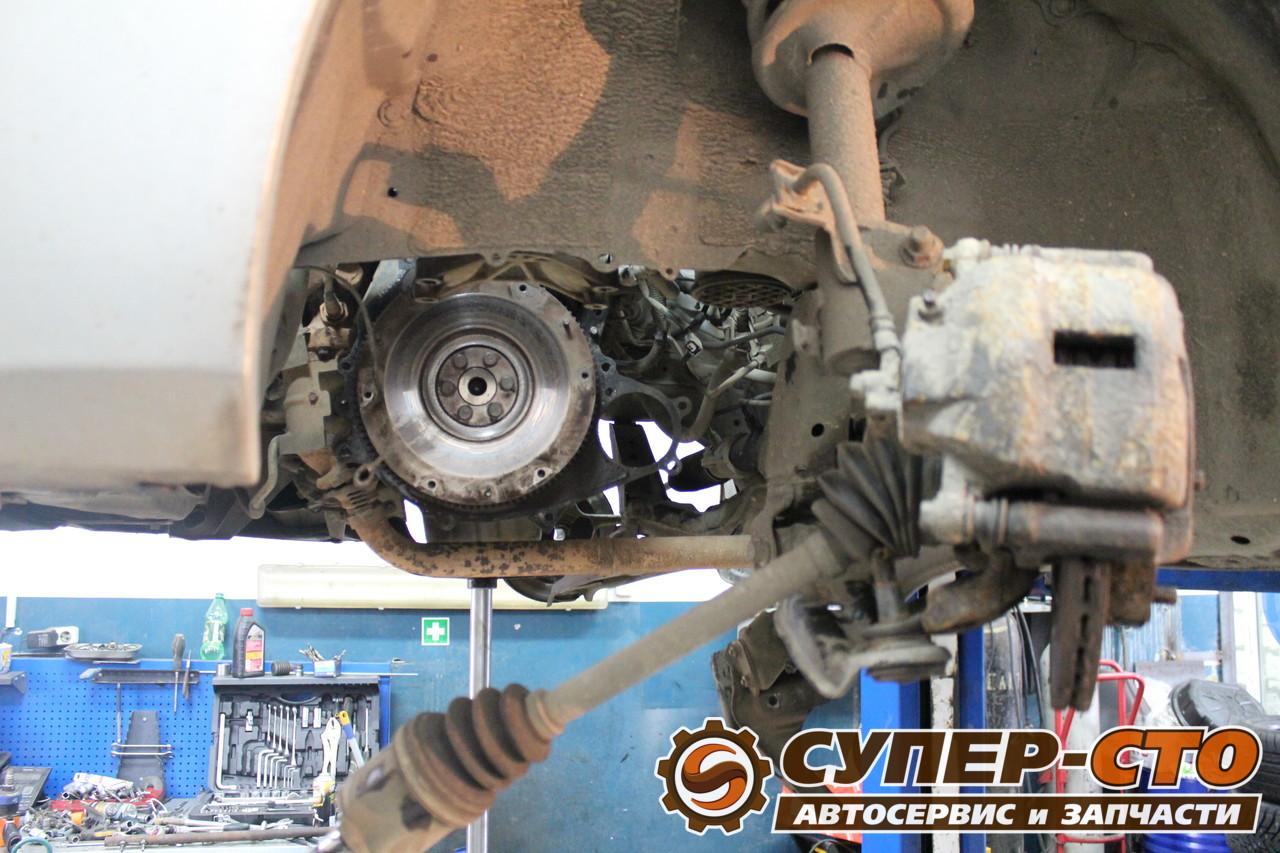 Самостоятельная замена сцепления Nissan Almera N16 51