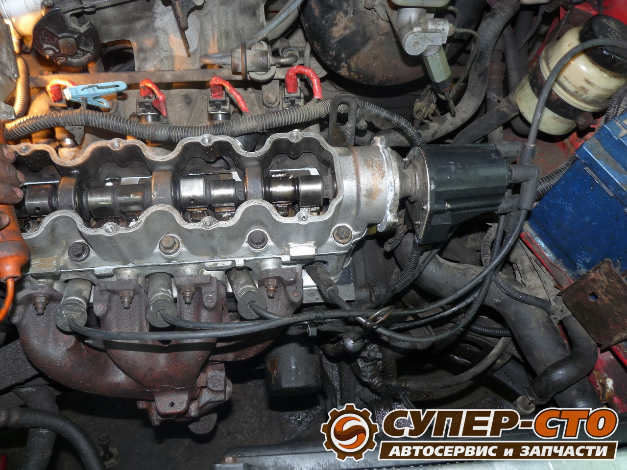 Капремонт двигателя дэу нексия своими руками 63