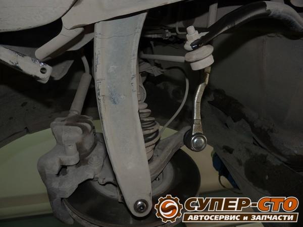 Замена рулевых наконечников ланос своими руками 77