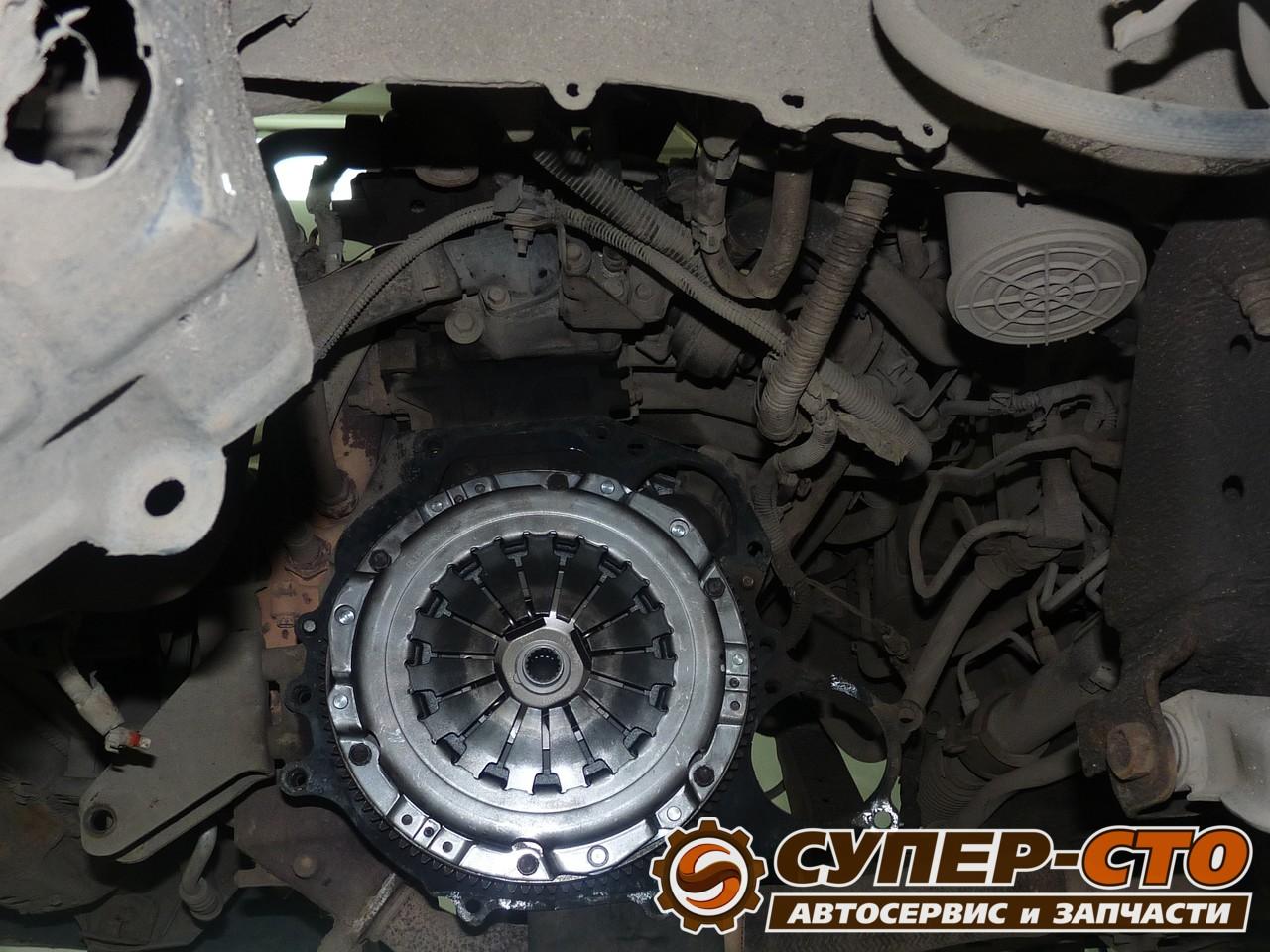 Самостоятельная замена сцепления Nissan Almera N16 54