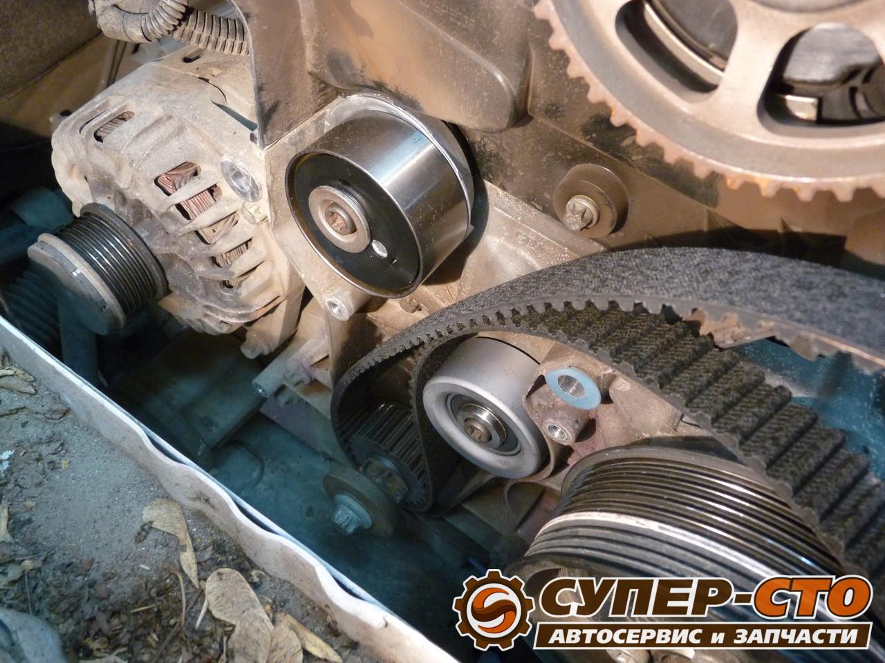 Chevrolet Niva. Замена привода грм, установка автоматического натяжителя