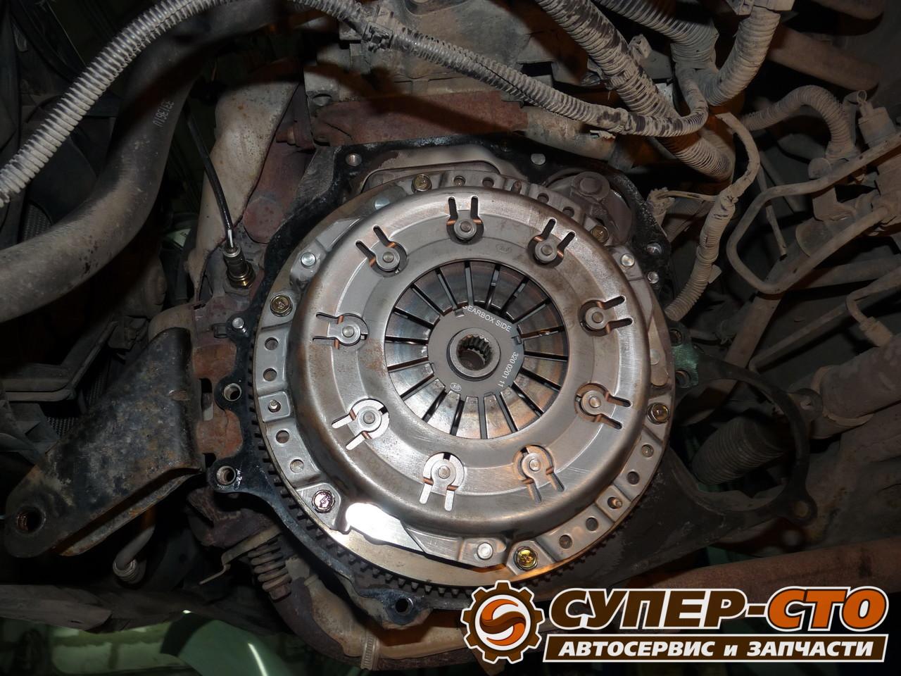 Самостоятельная замена сцепления Nissan Almera N16 19